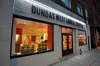Dundas West Animal Hospital logo